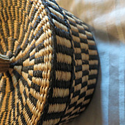 Beautiful Hand weaved Folk Art Basket