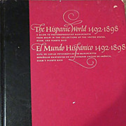 The Hispanic World 1492-1898  BOOK Library of Congress washington Codinace