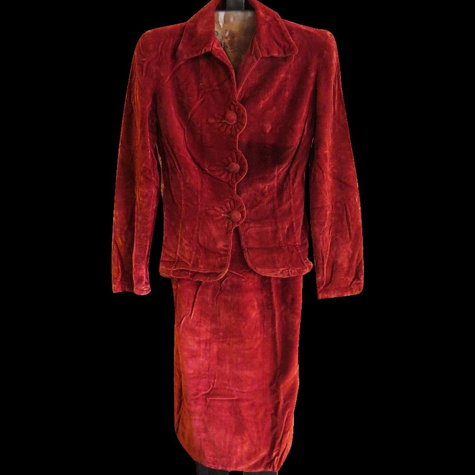Vintage Womens Suit 9