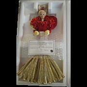 Golden Anniversary Porcelain Barbie 50th W/Shipper