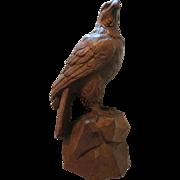 Vintage BRIENZ  B.G Swiss carved EAGLE
