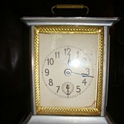 Antique Carriage Musical Alarm  Kienzle Clock co. N.Y