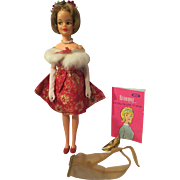 Ideal TOYS~Tammy FAMILY Doll  with Tammy OUTFIT~ Fur N Formal~# 9176-9