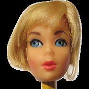 Vintage Barbie high color Fair Hair Head