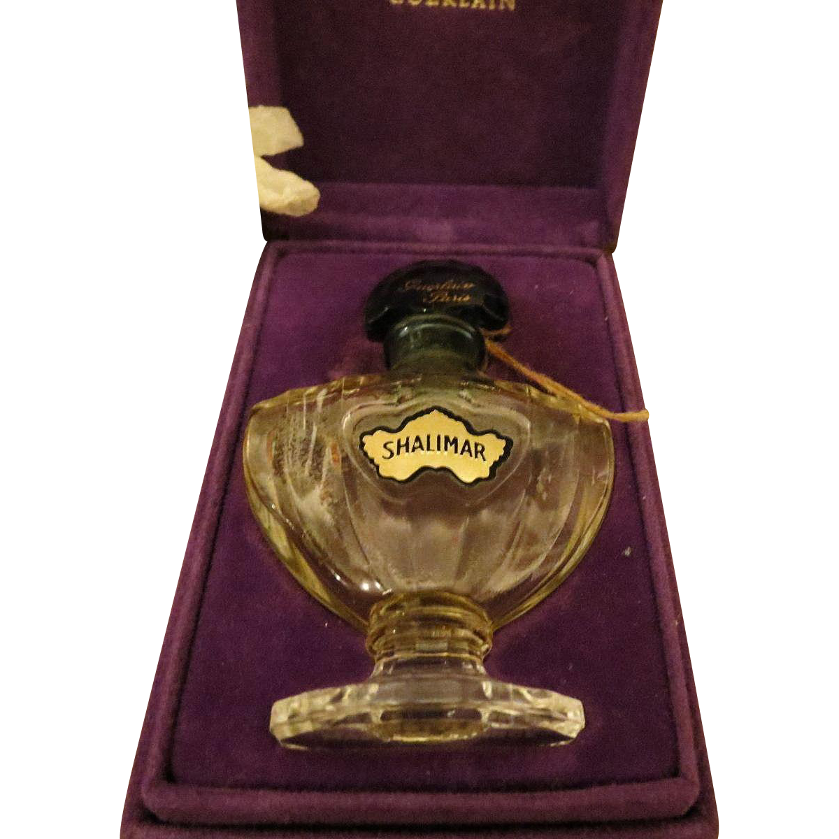 Vintage Guerlain Shalimar Made In France Perfume Bottle In