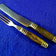 Original Civil War Era Knife & Fork