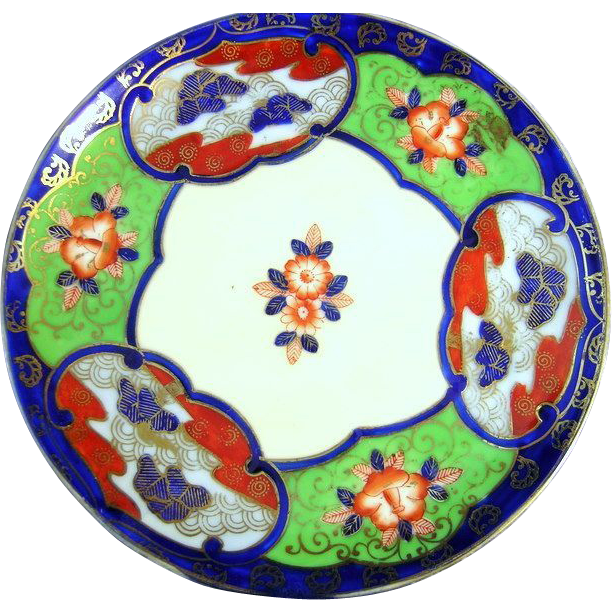 Imari by Ruri China Sandwich Plate