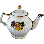 Beautiful Yellow Rose Sadler Tea Pot