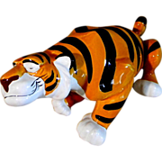 "Disney Princess Jasmine Tiger ""Rajah"" Porcelain Figurine"