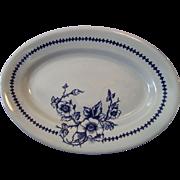 Set of Two Buffalo Pottery 10 1/2 Inch Platters Lune # 612