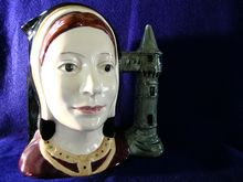 Royal Doulton Catherine of Aragon Pitcher Character Jug Toby