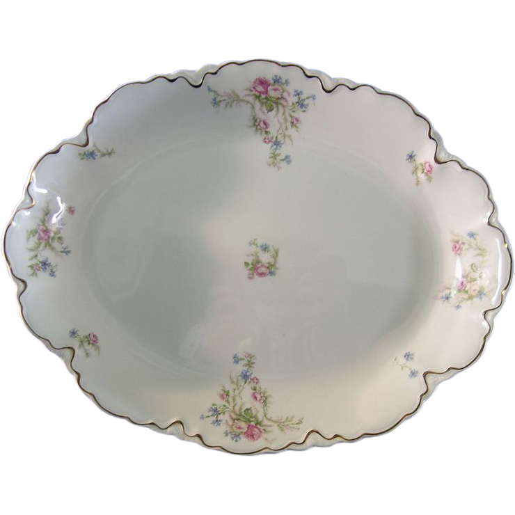 Large Johnson Bros. Serving Platter