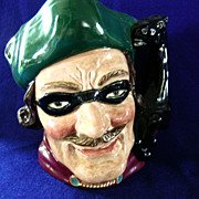 Royal Doulton Dick Turpin Large Pitcher Character Jug Toby
