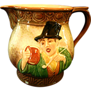"""Falcon Ware """"Tavern in the Town"""" Pitcher"""