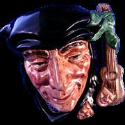 Royal Doulton Scaramouche Character Jug  #D6561 Toby Mug