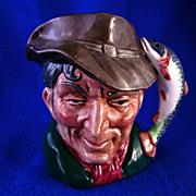 """Royal Doulton Character Jug """"Poacher"""" #6464 Toby Mug"""
