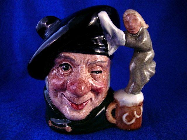 """Royal Doulton Character Jug """"Tam o' Shanter"""" # D6636 Toby Mug"""