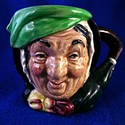 """Royal Doulton Character Jug """"Sairey Gamp"""" #5528 Toby Mug"""