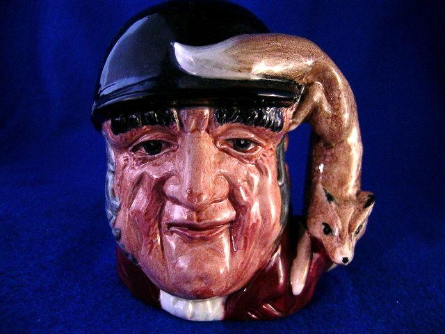 """Royal Doulton Character  Toby Jug """"Gone Away"""" #D6538  Mug"""