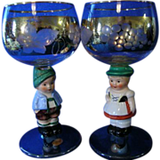 Goebel Hummel Dolly Dingle Stemware