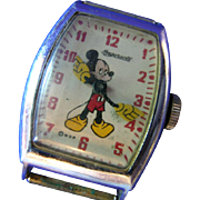1946 Ingersoll Mickey Mouse Watch with Package Insert
