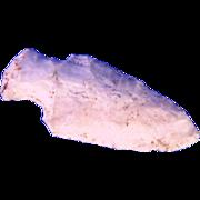 2 & 1/2 Inch Hardin Arrowhead Indian Artifact