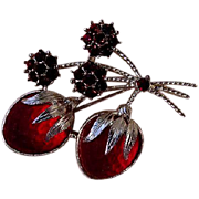 Lovely Strawberry Brooch