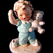 """Goebel Blonde Figurines """" Sleepy Head """" by Charlotte Byj"""