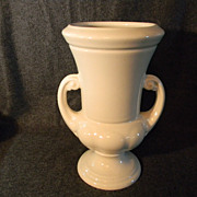 Lovely Ivory Eight Inch Abingdon Vase