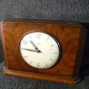 Vintage 1950's Art Deco Time Savings Clock