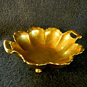 Pickard 4 Footed Nut Bowl