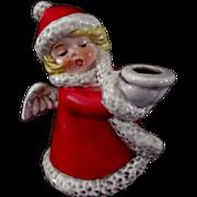 Goebel Christmas Angel Candle Holder