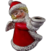 Goebel Christmas Angel Candle Holder
