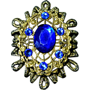 Vintage Jewelry *** 2 pieces *** Locket and Brooch