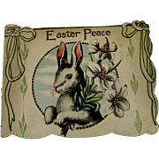5 Antique Easter Postcards Vintage 1916 or Earlier