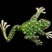 Frog Brooch or Pendant ** Vintage **