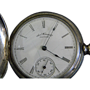 1886  American Waltham Watch Company Pocket Watch **Running**