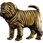 Shar Pei Brooch or Pin