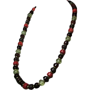 Beautiful Colors of Fall Beaded Necklace