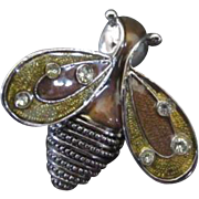 Liz Claiborne Bumble Bee Pin