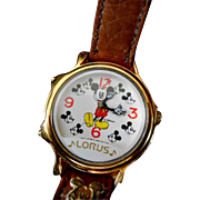 "Mickey Mouse Watch by Lorus ""Melody Mickey"""