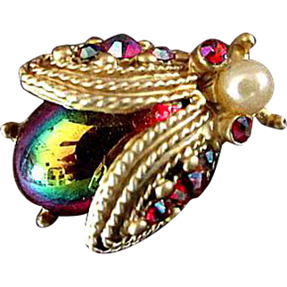 Dodds Jewelry Beetle Pin