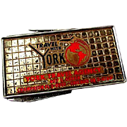 Advertising Money Clip York Travel, Chicago