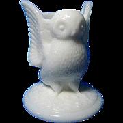 Vintage Westmoreland Owl Toothpick Holder
