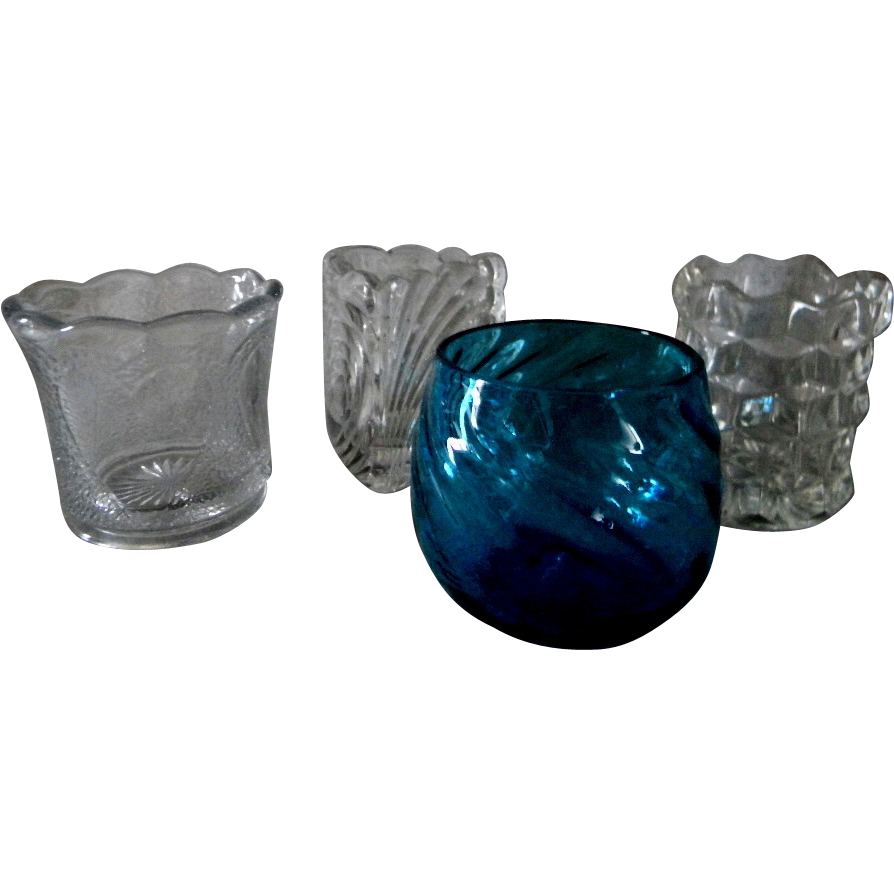 Four Different Eapg Toothpick Holders Sold On Ruby Lane