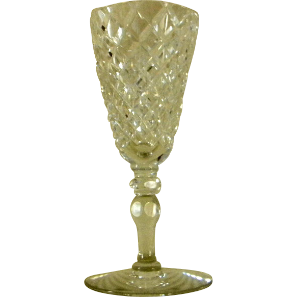 Hawkes Delft Diamond Champagne Flute from carolines on ...