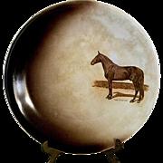 Dan Patch Commemorative Plate by Harker Pottery