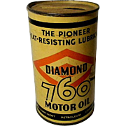 1938 Diamond D-X Motor Oil Can Bank