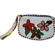 Pretty Native American Beaded Purse