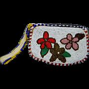 Pretty Native American Beaded Purse